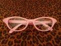 Cat Eye Glasses - Pink