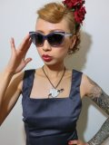☆Collectif☆Judy Classic 50s Sunglasses Navy