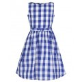 ☆Lindy Bop☆Children's Royal Blue Gingham Dress  3〜4歳用