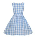 ☆Lindy Bop☆' Children's Audrey Sky Blue  Picnic Check 3〜4歳用