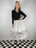 ☆Lindy Bop☆Praia Boutique Border Swing Skirt 11号