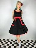 ☆H&R☆Black Apron Style Dress 9号