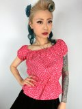 Vivien of Holloway Gypsy Top Red Heart SizeM(9号)