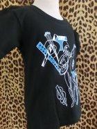 他の写真2: Braniff ☆ ハーレクインKid's Tシャツ Black  100サイズ