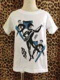 Braniff ☆ ハーレクインKid's Tシャツ White  100サイズ
