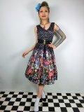 ☆Lindy Bop☆Valerie Tokyo Print Swing Dress 9号