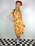 ☆Collectif☆LEELU PINEAPPLE & PALM SARONG DRESS 9号