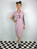 ☆Collectif☆TAMMY PLAIN PENCIL DRESS Pink 15号