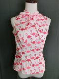 ☆Heart of Haute☆ Ella Top - Pink Flamingo(XL)17号