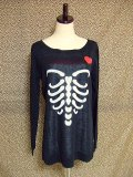 SOURPUSS RIBCAGE TUNIC SWEATER (M)11号
