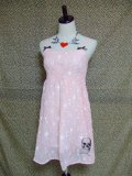 SOURPUSS DOLL BABY CHIFFON PEACH DRESS(S) 9号