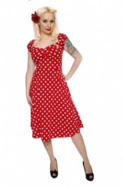 画像5: ☆Collectif☆Dolores Doll Dress Polka - Red 15号