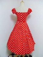 他の写真3: ☆Collectif☆Dolores Doll Dress Polka - Red 15号