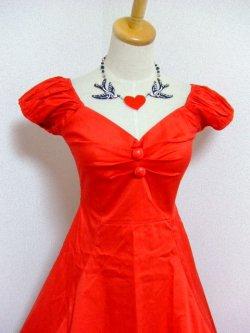 画像2: ☆Collectif☆Dolores Doll Classic Cotton - Red  13号