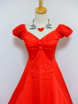 画像4: ☆Collectif☆Dolores Doll Classic Cotton - Red  13号