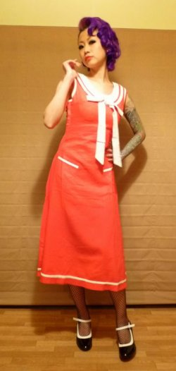 画像4: ☆Collectif☆Fedora Dress 7号