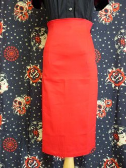 画像4: ☆Collectif☆Fiona Skirt Plain - Red 15号