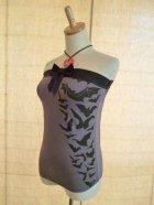他の写真1: SOURPUSS Gray Bat Tube Top(S)9号