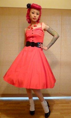 画像1: ☆Collectif☆Fairy Dress Red 13号