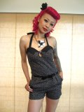 SOURPUSS  ROMPERS ☆ LEOPARD(M)11号