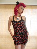 SOURPUSS  ROMPERS ☆ CHERRY  Mサイズ