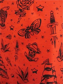 画像2: SOURPUSS  FLASH MOB SKIPPER DRESS ☆ RED (M) 11号
