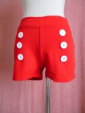 SOURPUSS ☆ BE BOP SHORTS - RED S