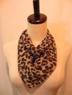 他の写真2: ☆Collectif☆Bandana Big Leopard Print Chiffon
