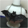 CHARCOAL DESIGNS  Bat Necklace