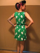 他の写真3: SOURPUSS ☆Maria Dress Green Sugar Skull  11号