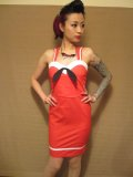 SOURPUSS ☆Sourpuss Mary Dress Sailor Red 11号