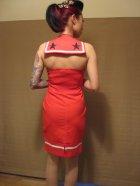 他の写真3: SOURPUSS ☆Sourpuss Mary Dress Sailor Red 11号