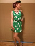 SOURPUSS ☆Maria Dress Green Sugar Skull  11号