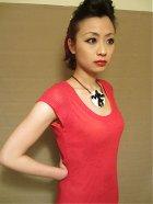 他の写真1: SOURPUSS ☆ Red Crochet Skull Stitch Dress 11号
