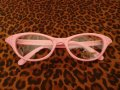 Cat Eye Glasses - Pink
