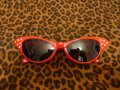 Cat Eye Shades - Red