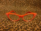 他の写真2: Cat Eye Glasses -Red