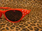 他の写真1: Cat Eye Shades - Red