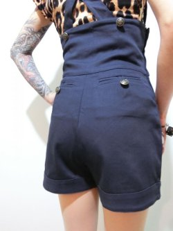 画像4: ☆Collectif☆Franky Shorts Plain Navy 13号