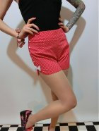 他の写真1: SOURPUSS ☆  SWEETIE PIE SHORTS RED/WHITE(M)11号