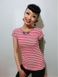 ☆Collectif☆Alice T-shirt Red 5号