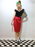 ☆HELL BUNNY☆ Bebe Rock Skirt Red 13号