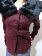 他の写真2: ☆Collectif☆Geraldine Jacket Burgundy 7号