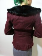 他の写真3: ☆Collectif☆Geraldine Jacket Burgundy 7号