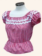 他の写真1: Vivien of Holloway Gypsy Top Gingham Red SizeM (9号)