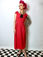 他の写真1: ☆Lindy Bop☆Mercy Tea Dress Red 7号