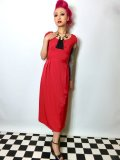 ☆Lindy Bop☆Mercy Tea Dress Red 9号