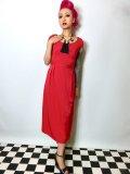 ☆Lindy Bop☆Mercy Tea Dress Red 7号