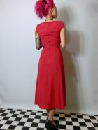 他の写真3: ☆Lindy Bop☆Mercy Tea Dress Red 7号