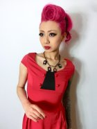 他の写真2: ☆Lindy Bop☆Mercy Tea Dress Red 7号